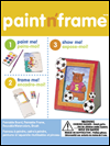 paint n frame bear